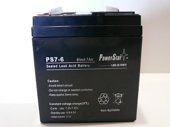 PowerStar AGM 6V 7.2AH TALL (AGM6-7T)