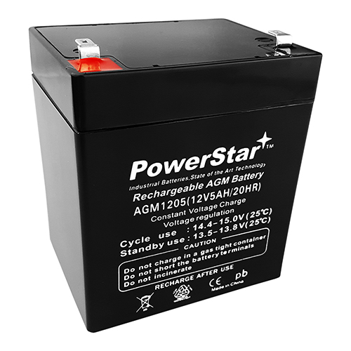 Powersonic PS-1250 Replacement SLA Battery