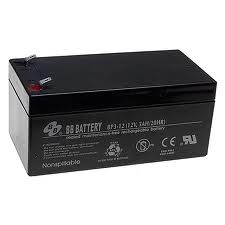 B.B. Battery BP3-12 12V Ah